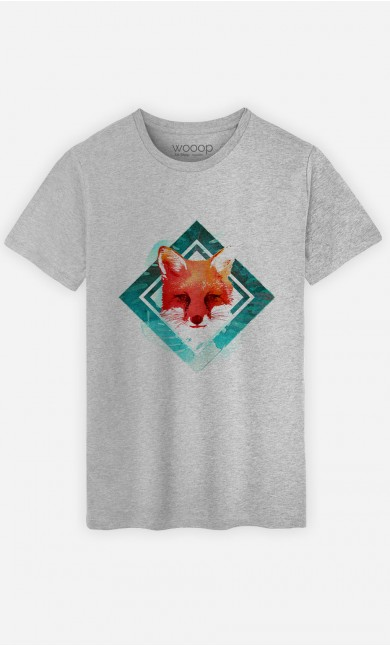 T-Shirt Green Fox