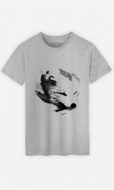 T-Shirt White Fox Alpha