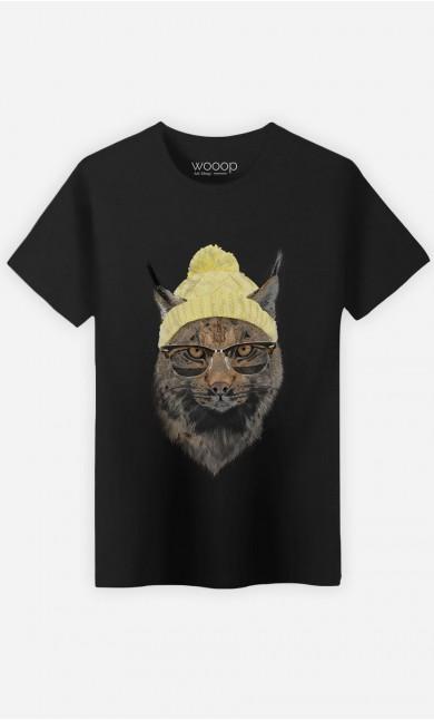 T-Shirt Geeky Cat