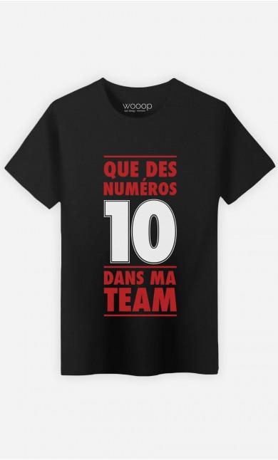 T-Shirt Dans Ma Team
