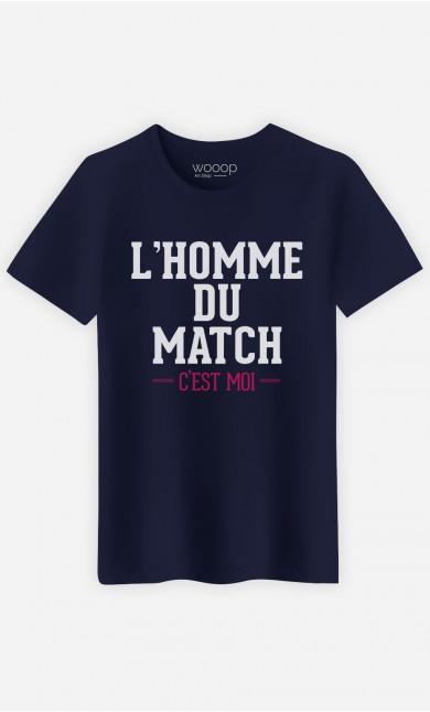 T-Shirt L'homme Du Match C'est Moi