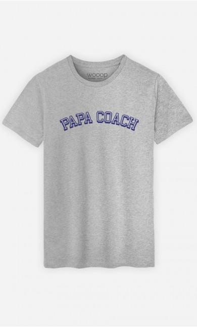 T-Shirt Papa Coach
