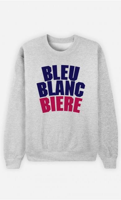 Sweat Bleu Blanc Bière