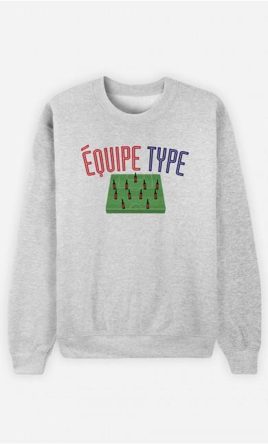 Sweat Équipe Type