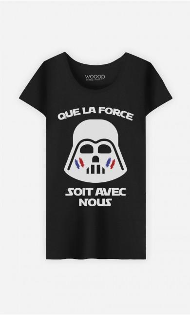 T-Shirt Que La Force Soit Avec Nous