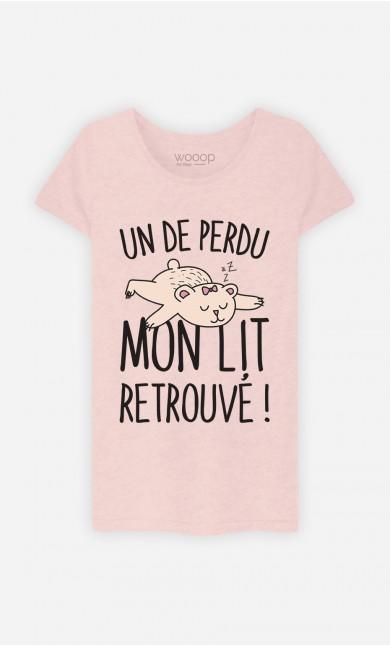 T-Shirt Un De Perdu Mon Lit Retrouvé !