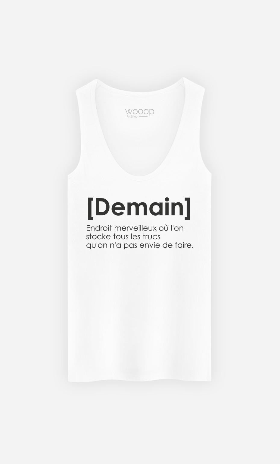 Débardeur Demain Definition