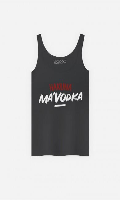 Débardeur Hakuna Ma'vodka