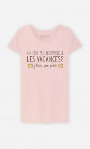 T-Shirt J'étais Pas Prête