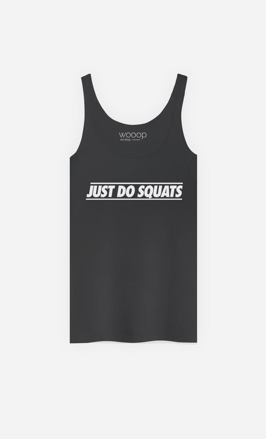 Débardeur Just Do Squats