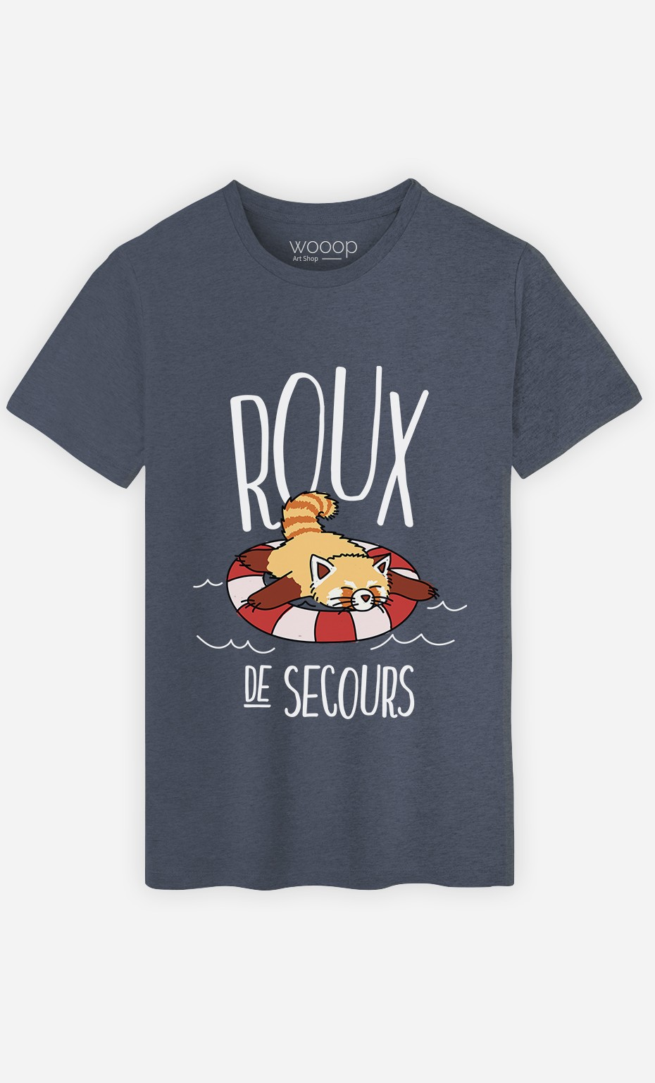 T-Shirt Roux De Secours