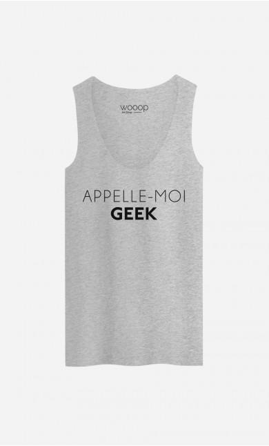 Débardeur Appelle-Moi Geek