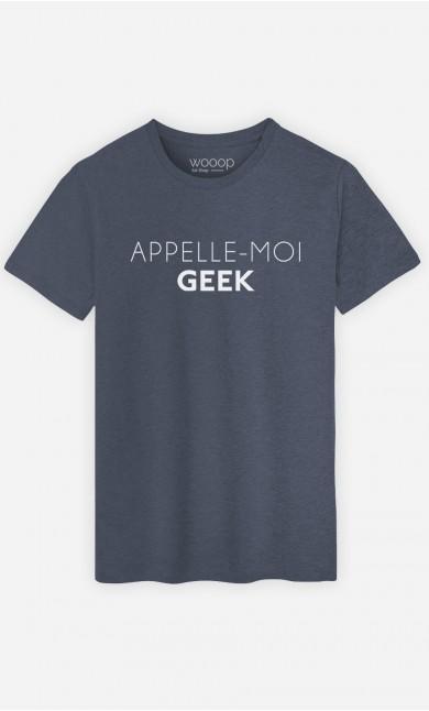 T-Shirt Appelle-Moi Geek