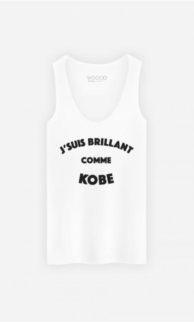 Débardeur J'suis Brilliant Comme Kobe
