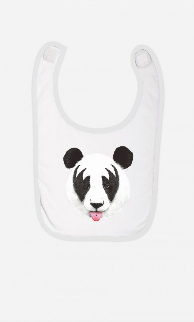 Bavoir Panda Kiss