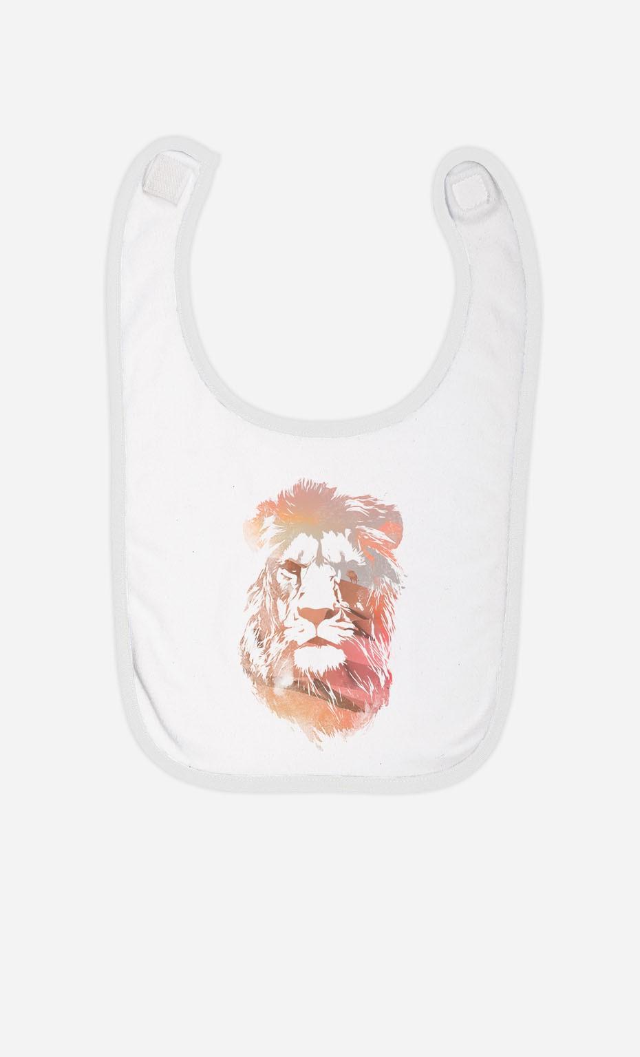Bavoir Desert Lion