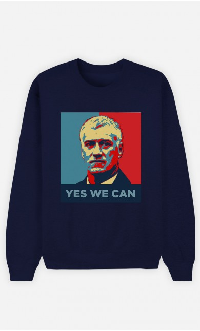 Sweat Bleu Yes We Can