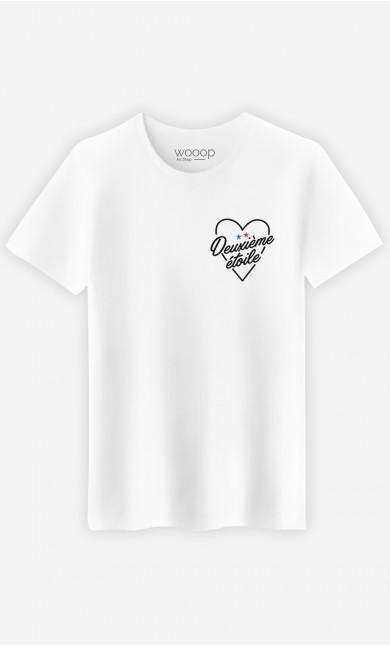 T-Shirt Deuxième étoile - brodé