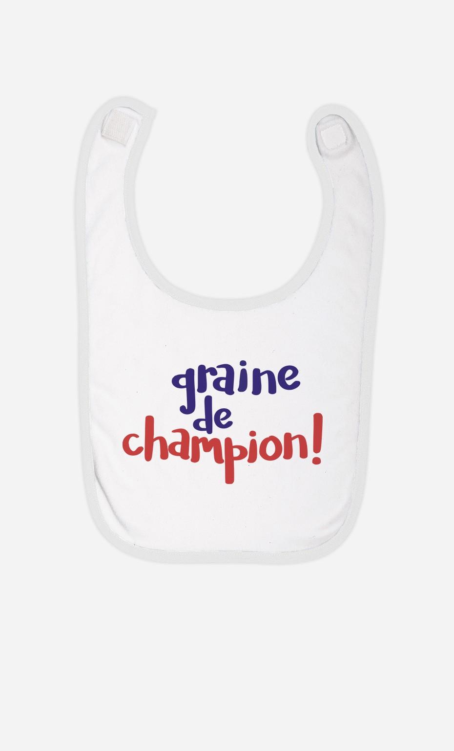 Bavoir Graine De Champion