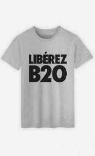 T-Shirt Gris B2O