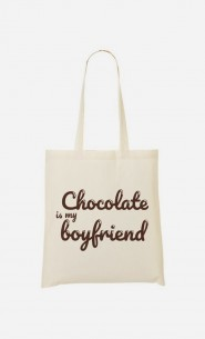 Tote Bag Chocolate Is My Boyfriend