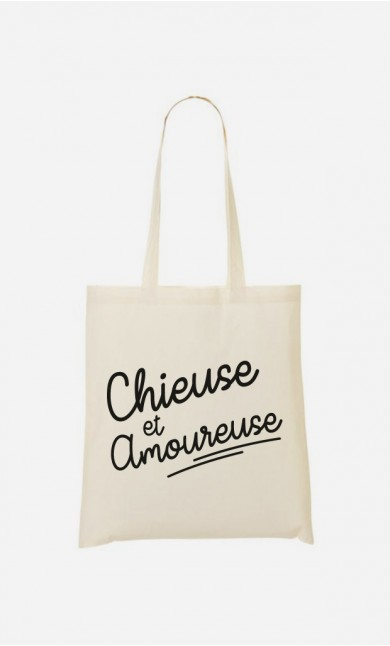 Tote Bag Chieuse Et Amoureuse