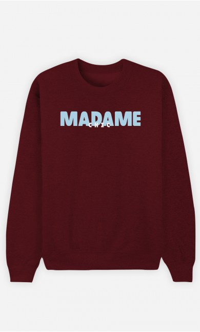 Sweat Bordeaux Madame Chic