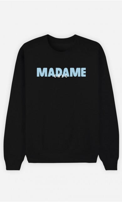 Sweat Noir Madame Chic
