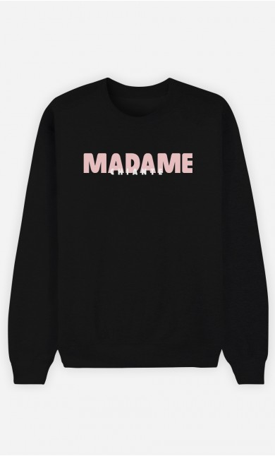Sweat Noir Madame Chiante