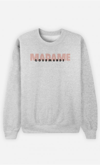 Sweat Gris Madame Gourmande