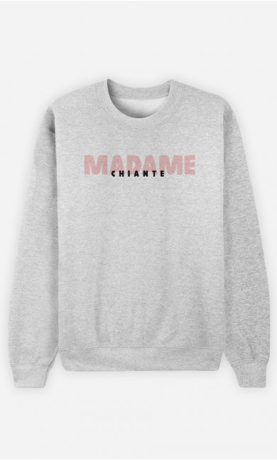Sweat Gris Madame Chiante