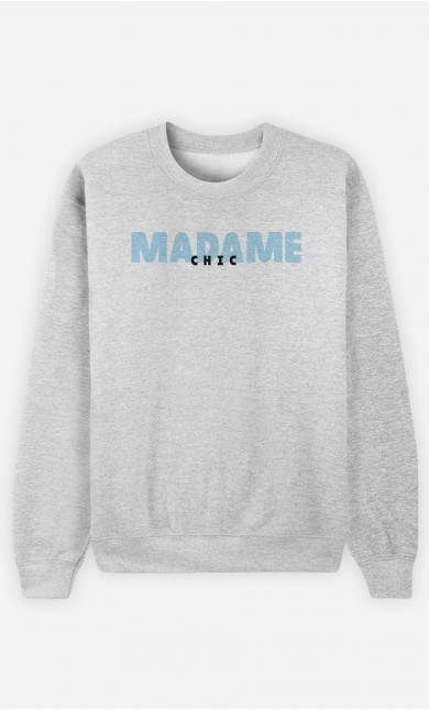 Sweat Gris Madame Chic