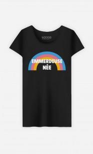 T-Shirt Noir Emmerdeuse Née
