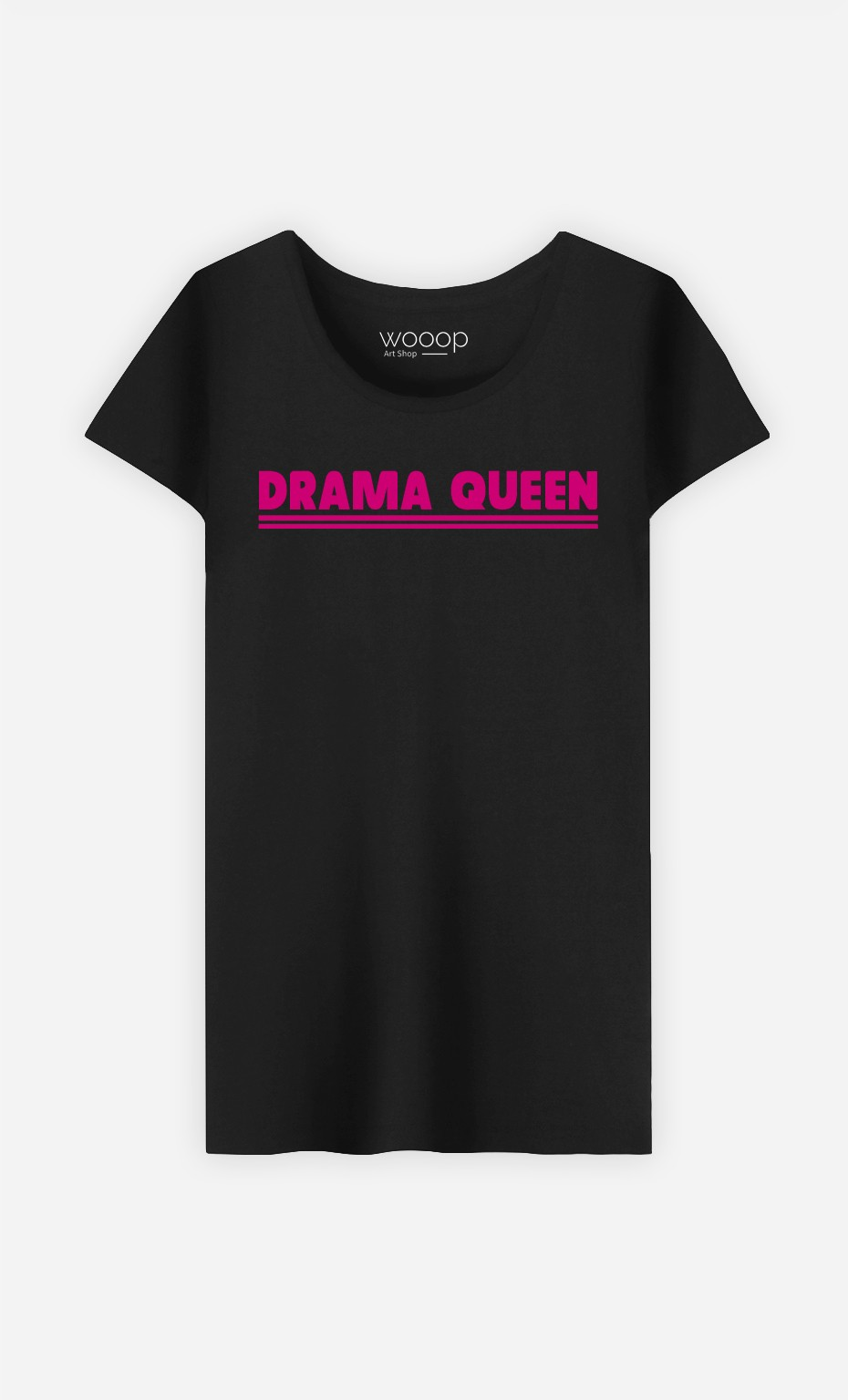 T-Shirt Noir Drama Queen