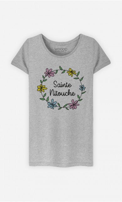 T-Shirt Gris Sainte Nitouche