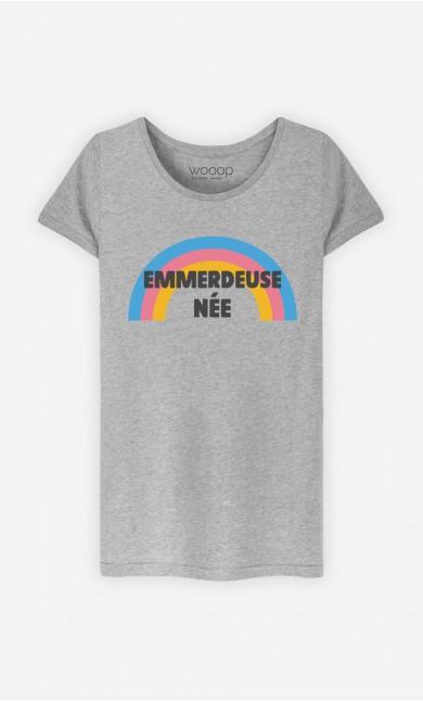 T-Shirt Gris Emmerdeuse Née