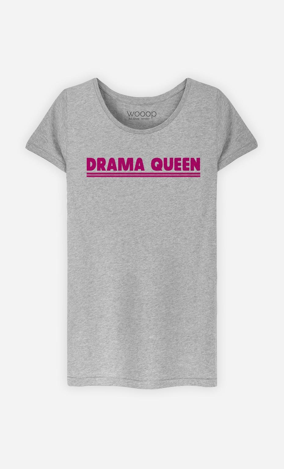 T-Shirt Gris Drama Queen