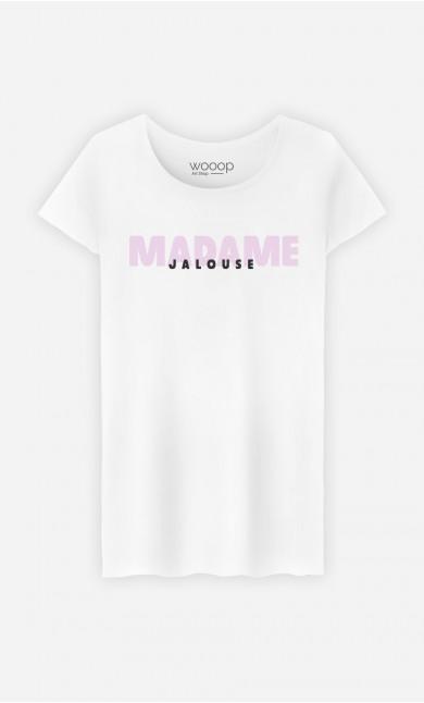 T-Shirt Blanc Madame Jalouse