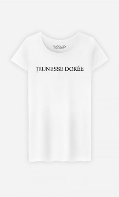 T-Shirt Blanc Jeunesse Dorée