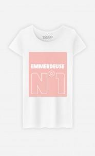 T-Shirt Blanc Emmerdeuse N°1