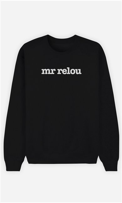 Sweat Noir Mr Relou