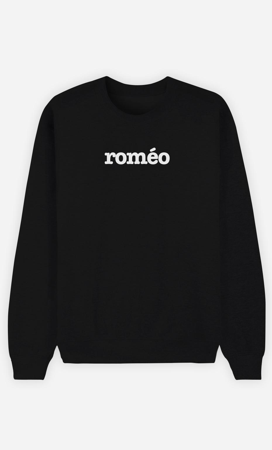 Sweat Noir Roméo