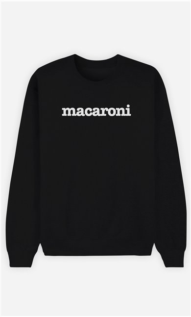 Sweat Noir Macaroni