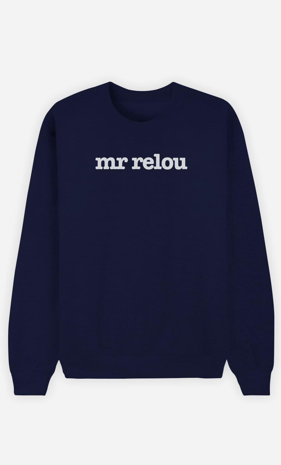 Sweat Bleu Mr Relou