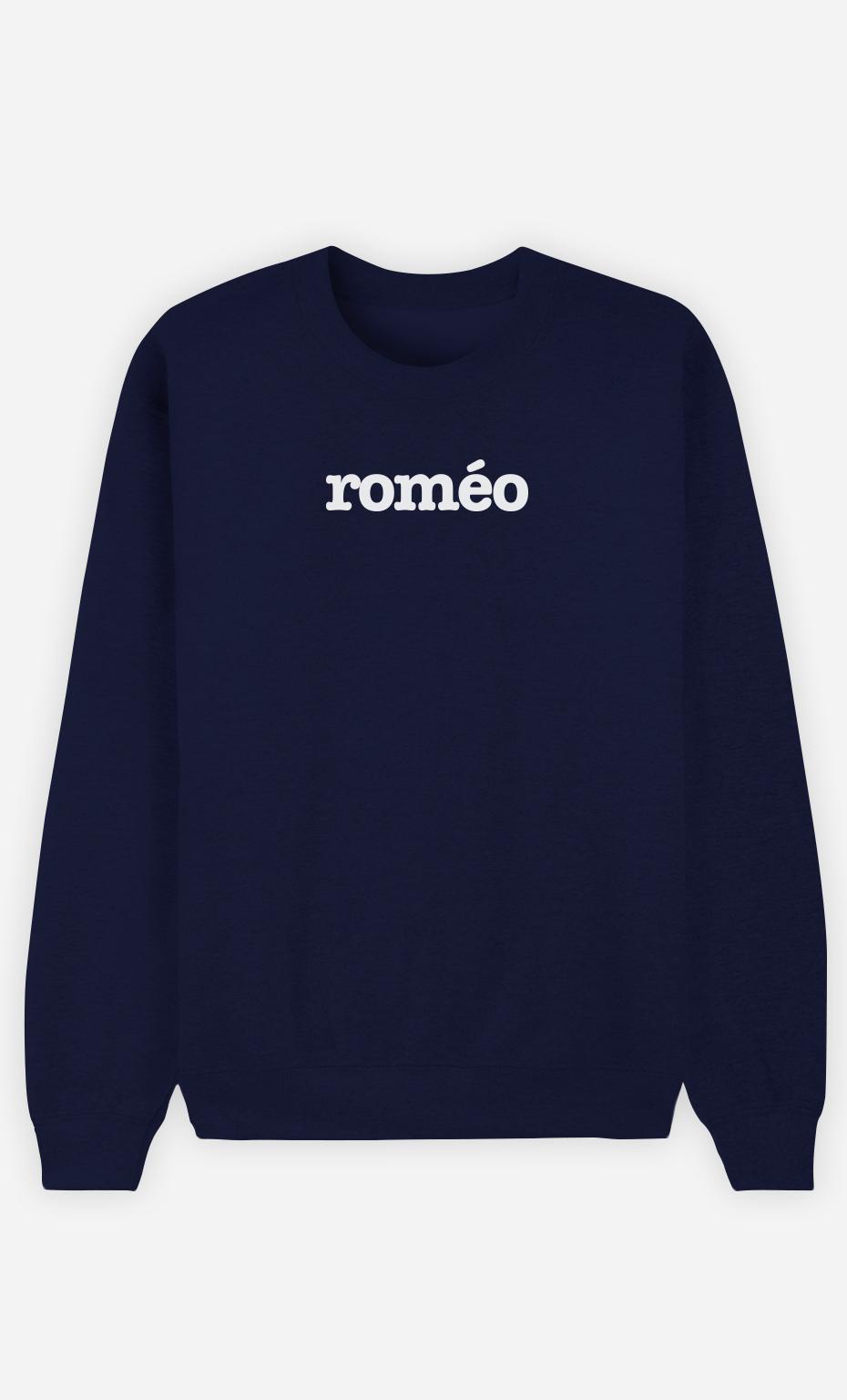 Sweat Bleu Roméo