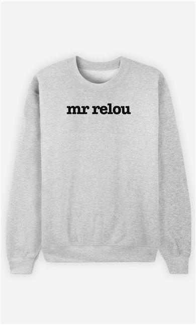 Sweat Gris Mr Relou
