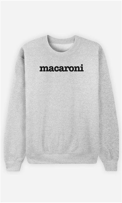 Sweat Gris Macaroni