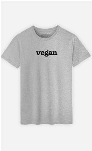 T-Shirt Gris Vegan