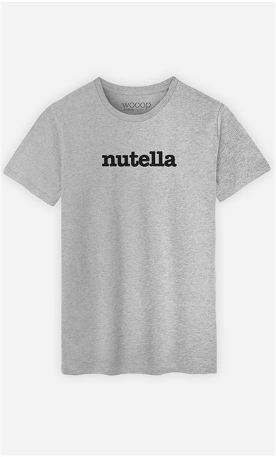 T-Shirt Gris Nutella