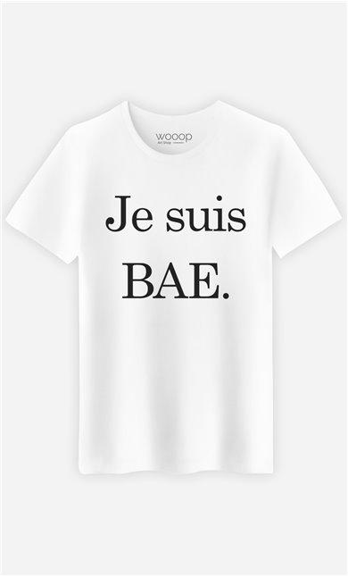 T-Shirt Blanc Je Suis Bae